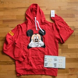 Men's Disney x Neff Pullover Hoodie Sz Small